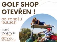 Read more: Golf Shop opět otevřen!