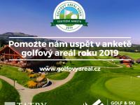 Číst dál: Pomozte nám prosím uspět v anketě o golfový areál roku 2019