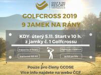Číst dál: Golfcross 2019 pro členy GCOSE