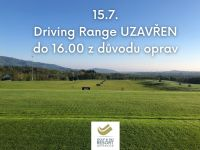 Číst dál: 15.7. Driving Range Uzavřen