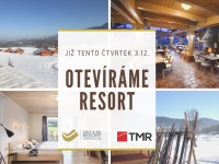 Číst dál: Otevíráme resort!