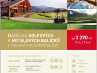 Číst dál: Nabídka golfových a hotelových balíčků je TADY!
