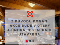 Číst dál: Dne 4.2.2020 restaurace uzavřena!