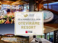 Číst dál: Již v pondělí 25.5. otevíráme celý resort!